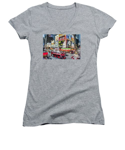 Times Square II Women's V-Neck