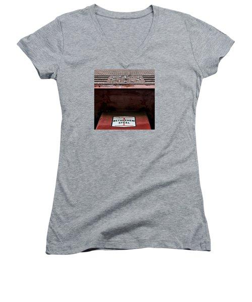 Timesover Women's V-Neck T-Shirt (Junior Cut) by DJ Florek