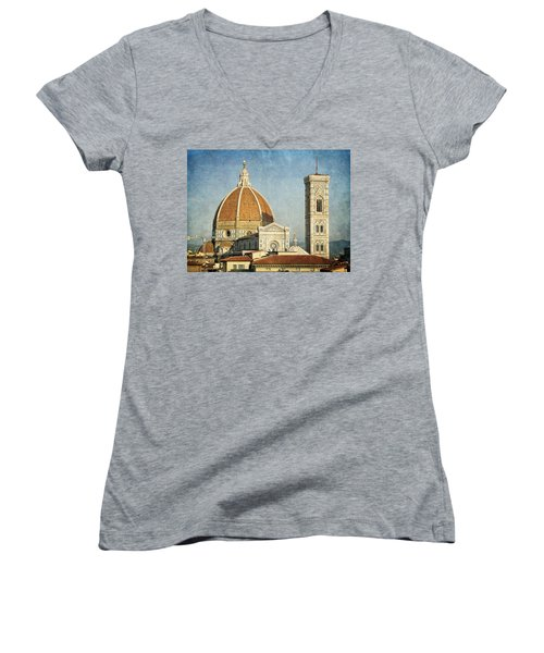 To Be Where You Are  Women's V-Neck