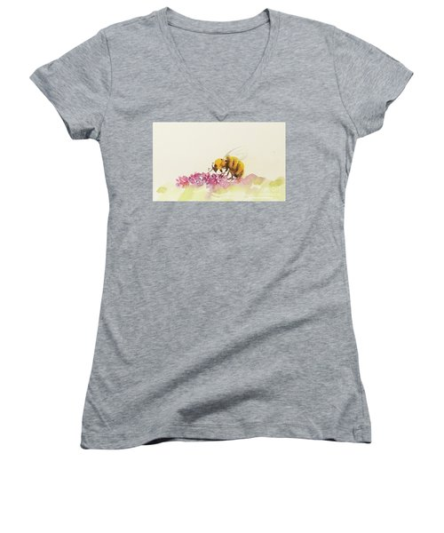 To Bee Or Not To Be Miniature Women's V-Neck