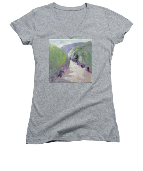 To Mountain Women's V-Neck (Athletic Fit)