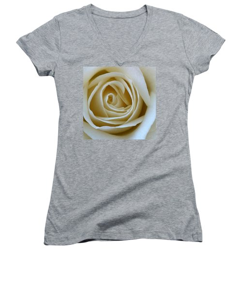 To The Heart Of The Rose Women's V-Neck