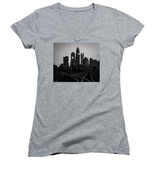 To The Queen City Women's V-Neck (Athletic Fit)
