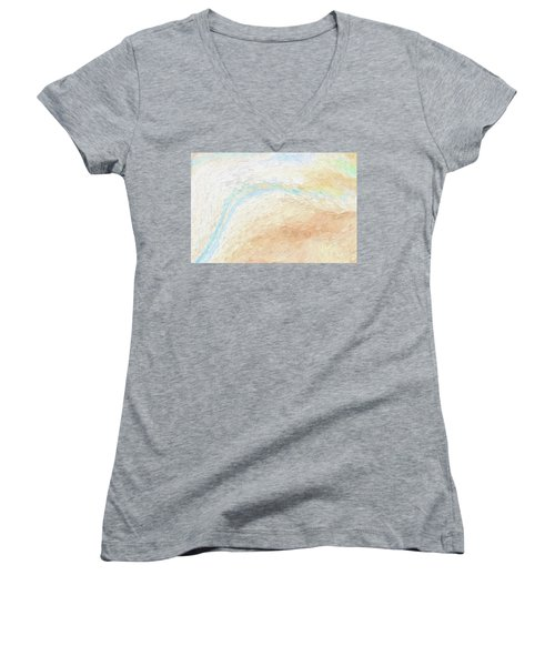 To The Sea Women's V-Neck T-Shirt (Junior Cut)