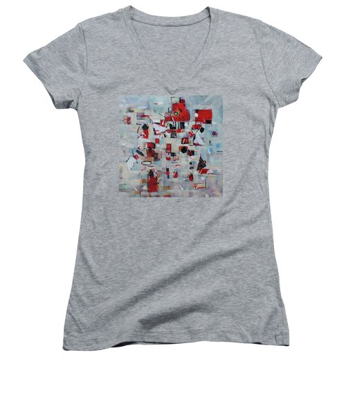 To The Top Women's V-Neck T-Shirt