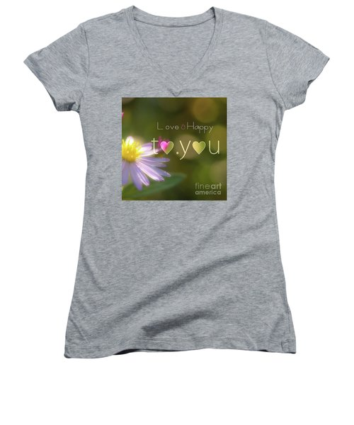 To You #003 Women's V-Neck T-Shirt