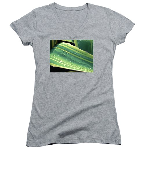 Toboggan Women's V-Neck T-Shirt (Junior Cut) by Beto Machado