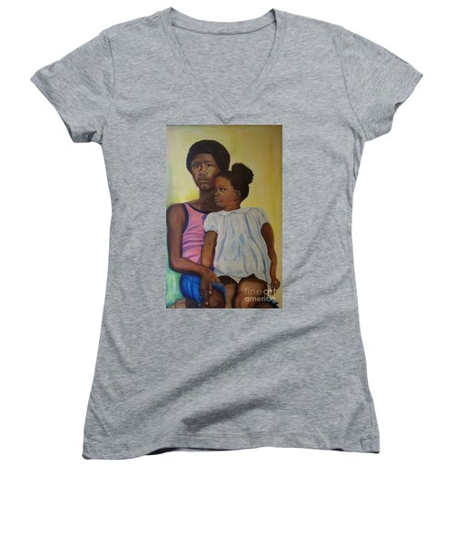 Together - Pride And Peace Women's V-Neck