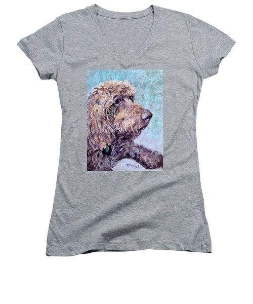 Token Women's V-Neck T-Shirt