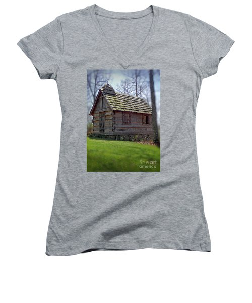 Tom's Country Church And School Women's V-Neck
