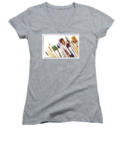 Tools  Of The Trade Women's V-Neck T-Shirt
