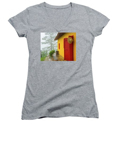 Top Of The Mountain Women's V-Neck