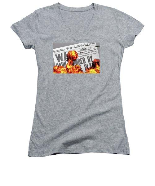 Tora Tora Tora Women's V-Neck T-Shirt