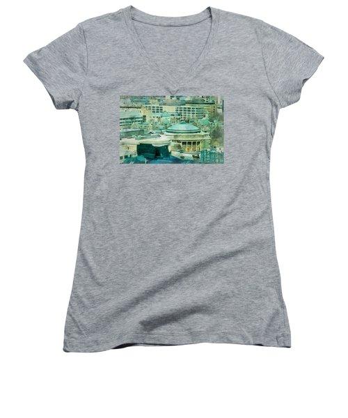 Toronto Window View Women's V-Neck T-Shirt