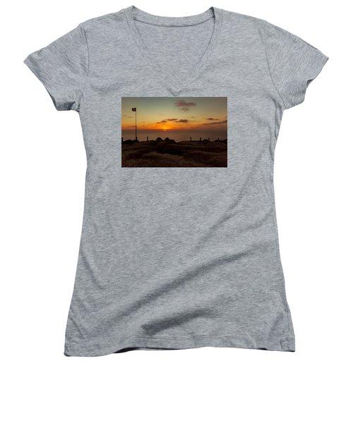 Torrey Pine Glider Port Sunset Women's V-Neck