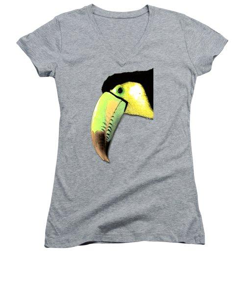 Toucan Do It Women's V-Neck T-Shirt