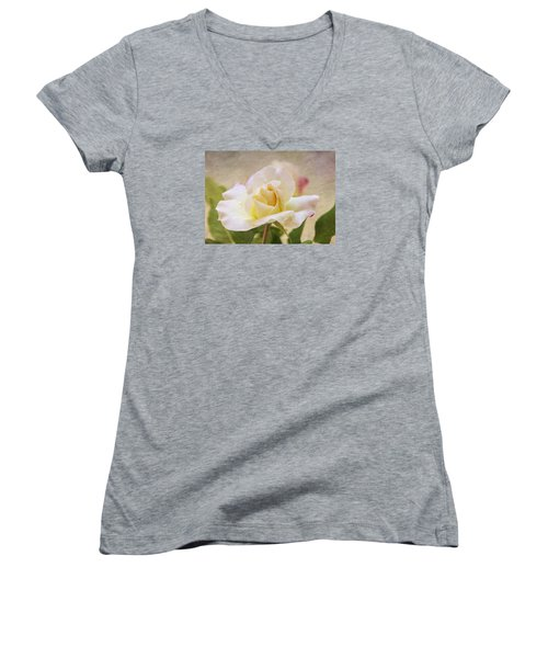 Touch Of Pink Women's V-Neck