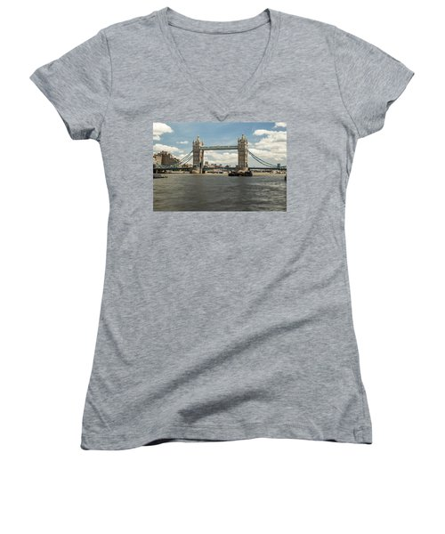 Tower Bridge A Women's V-Neck