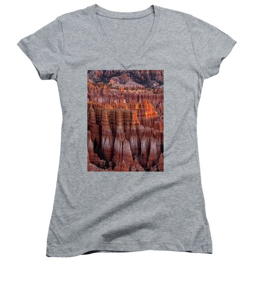 Towers Of Bryce Women's V-Neck