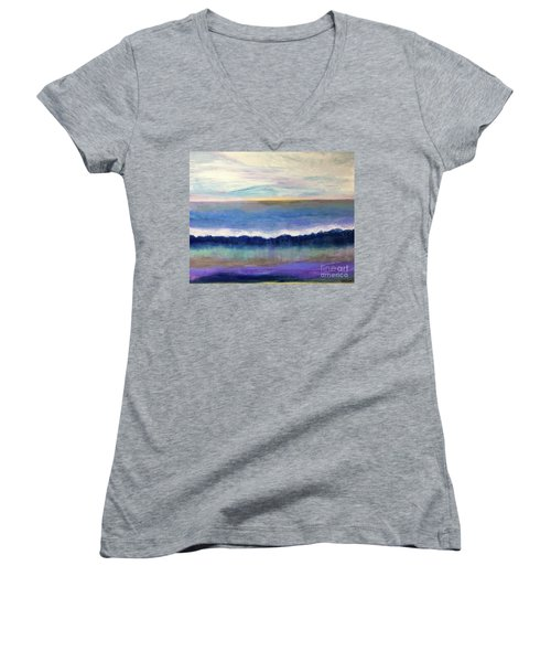 Tranquil Seas Women's V-Neck
