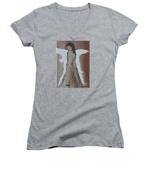 Tranquility Women's V-Neck T-Shirt (Junior Cut)