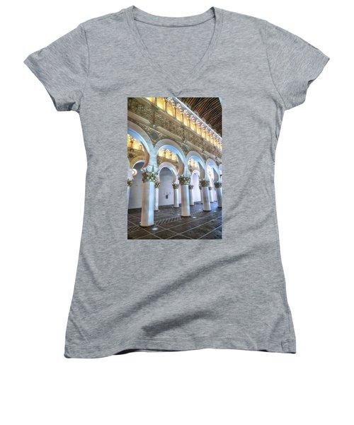 Transcept Women's V-Neck T-Shirt