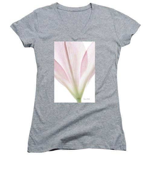 Transparent Lilly I Women's V-Neck