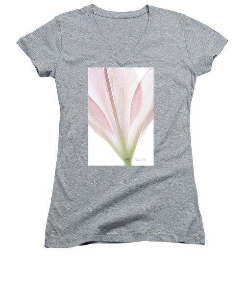 Transparent Lilly I Women's V-Neck