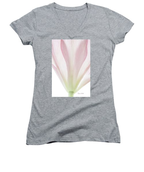 Transparent Lilly II Women's V-Neck
