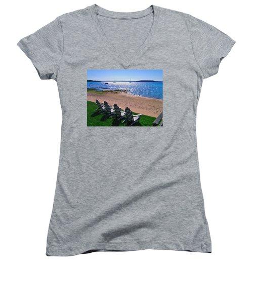 Traverse Bay Reverie Women's V-Neck T-Shirt