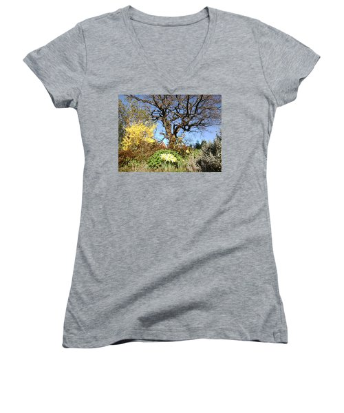 Tree Photo 991 Women's V-Neck