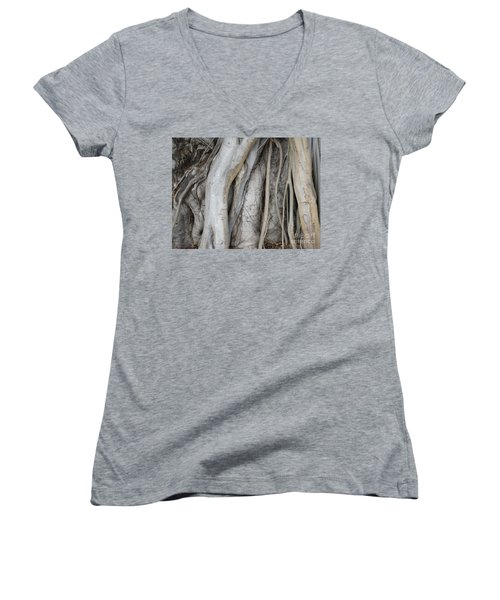 Tree Roots Women's V-Neck T-Shirt