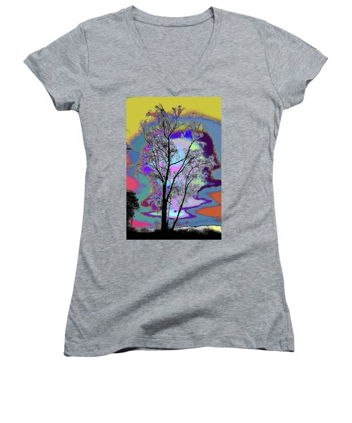 Tree - Story Of Life Women's V-Neck