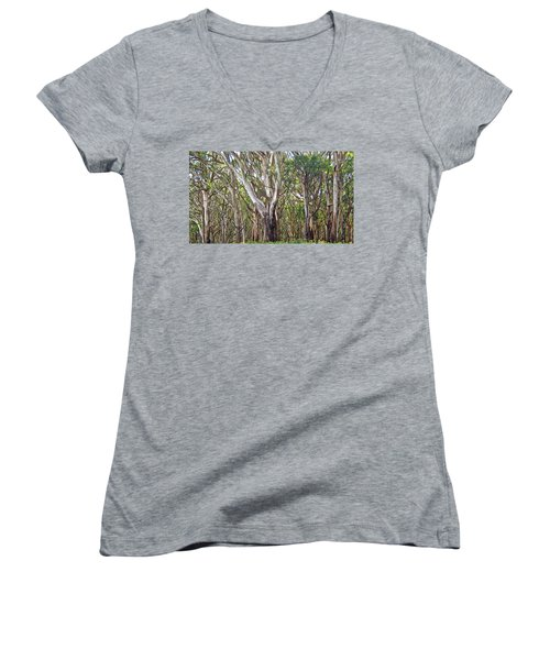 Trees Women's V-Neck