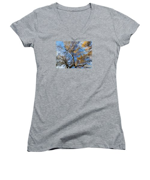 Trees Grow To The Sky Women's V-Neck