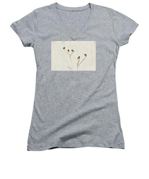 Treetop Starlings Women's V-Neck T-Shirt