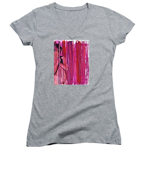Tremble Women's V-Neck T-Shirt