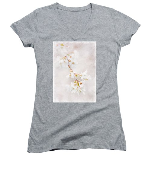 Triadelphia Cherry Blossoms Women's V-Neck