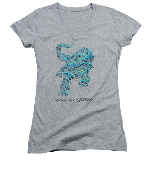 Triceratrippin 2 Women's V-Neck T-Shirt