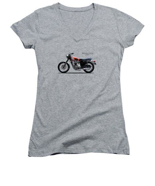 Triumph Bonneville 1969 Women's V-Neck T-Shirt