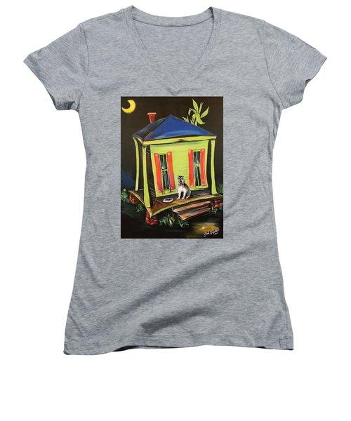 Trixie's House Women's V-Neck T-Shirt