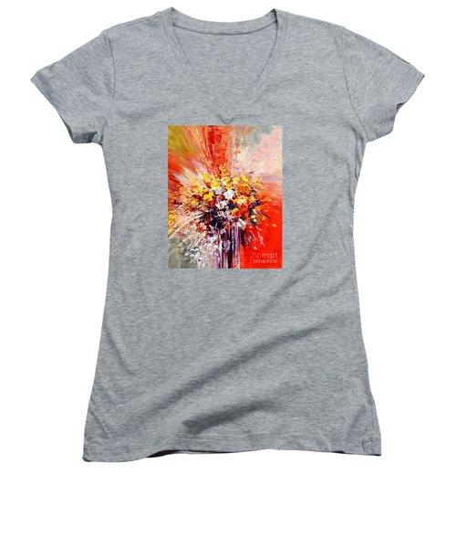 Tropic Intensity Women's V-Neck T-Shirt