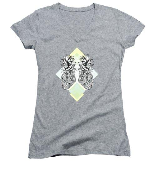 Tropical Women's V-Neck T-Shirt