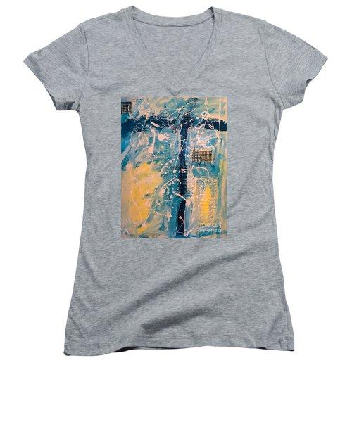 Tropicana Bird 03 Women's V-Neck T-Shirt
