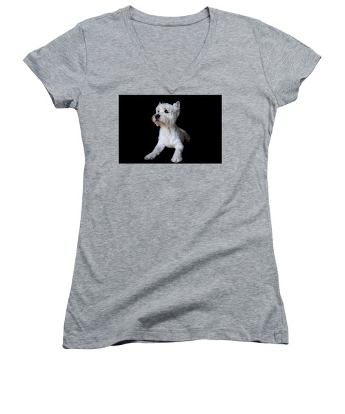 Trot Posing Women's V-Neck