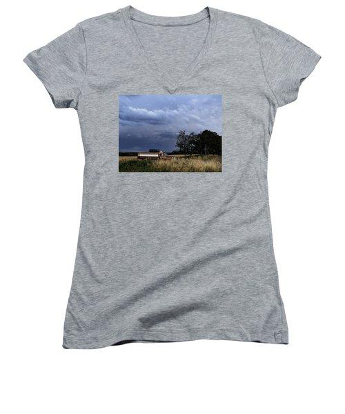 Truck Women's V-Neck T-Shirt