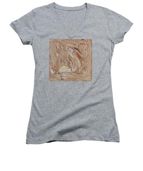 True Is Always True Women's V-Neck T-Shirt (Junior Cut) by Steven Macanka