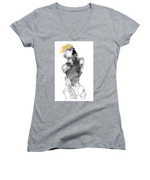 Trump Tower Women's V-Neck T-Shirt