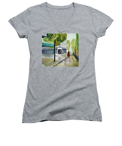 Tudo Street, Saigon11 Women's V-Neck T-Shirt