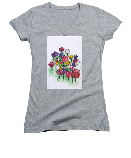 Tulip Bed Women's V-Neck